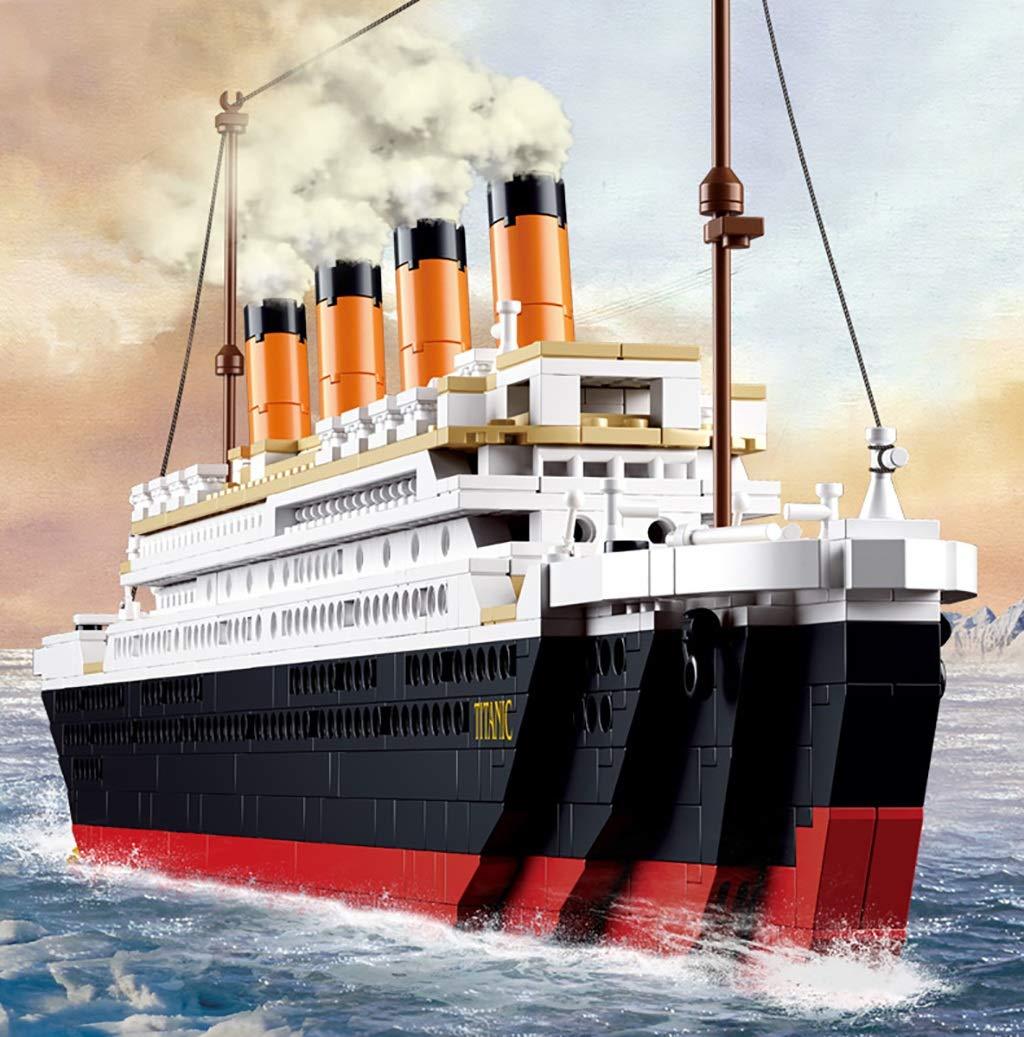 海外並行輸入正規品 巨大なモデルビルディングブロック B07R13K4RG、困難な大型船の組み立て玩具のシミュレーション B07R13K4RG, イイジママチ:5080e4da --- vezam.lt
