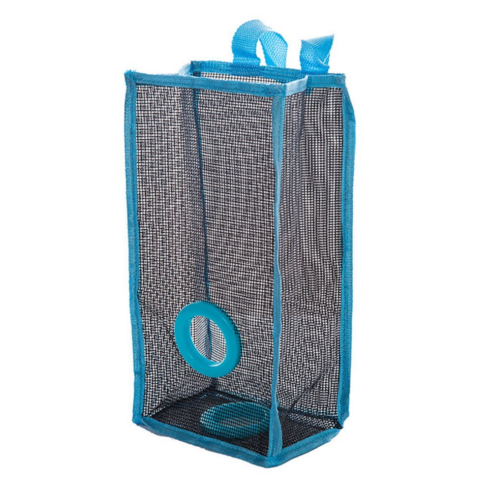 Haosen 2 Pack Carrier Bag Holder Dispenser//Portable /& Recycling//PVC Mesh Hanging Kitchen Storage for Carrier Bag Plastic Bag Bin Bag and Grocery Bag Green+Blue