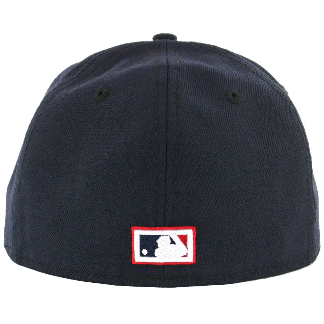 info for 59397 4d134 Amazon.com   New Era 5950 Los Angeles Angels CO CA Fitted Hat (Navy White  Red) Men s Cap   Clothing