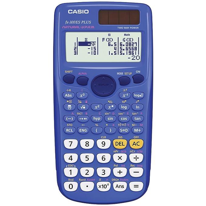 Casio Inc. fx-300es Plus ingeniería/calculadora científica ...