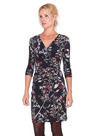 Revdelle - Robe Cache cœur col en V Made in France Manches Longues pour  Femme Myriam  Amazon.fr  Vêtements et accessoires 1bb9367d9226