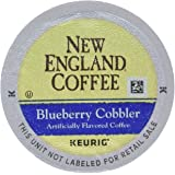 New England Coffee Blueberry Cobbler, Keurig K-Cups, 12 Count