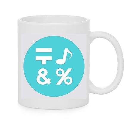 Emoji Mug Símbolo de entrada para símbolos Emoji: Amazon.es ...