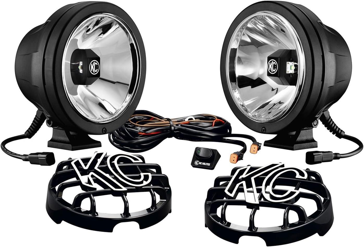 KC HiLiTES 644 6-Inch Pro Sport LED Drive Beam Pack - Pair: Automotive