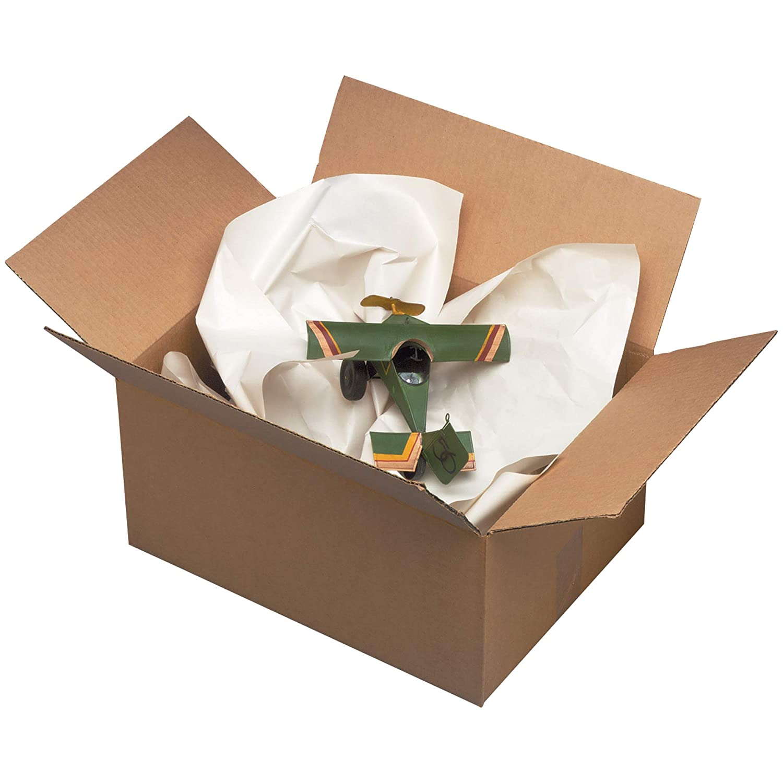 24 x 30 BOX USA BNP2433 Newsprint Sheets White Pack of 1000