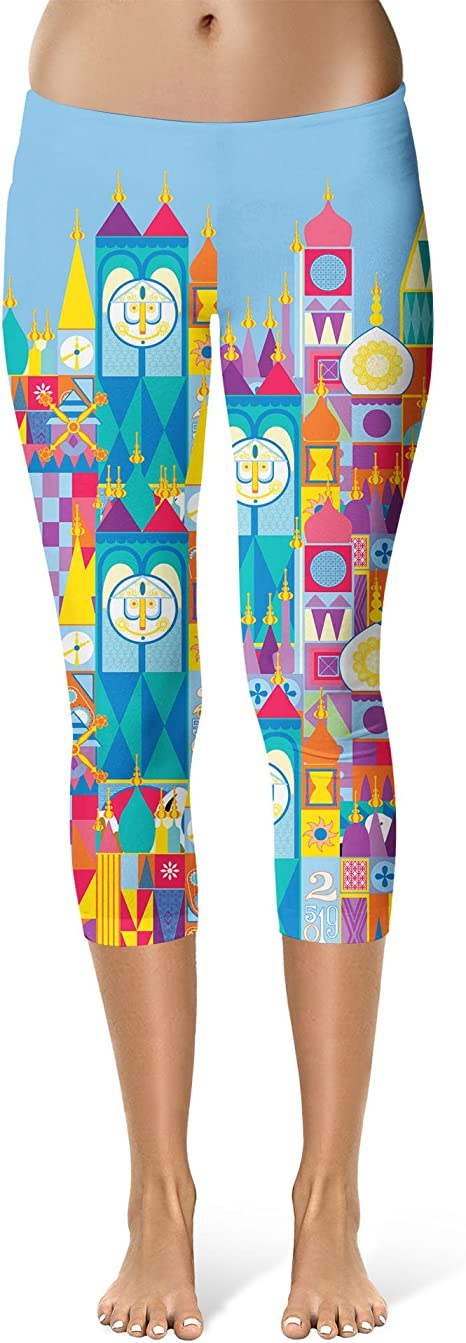 Full Length Fantasyland Disney Inspired Sport Leggings Mid//High Waist