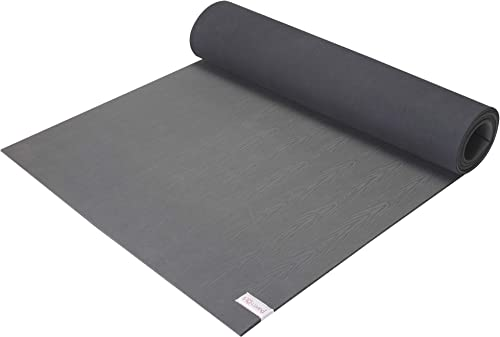 Sol Living Best Yoga Mat Wide Multi-Purpose Exercise Mat Anti Slip Extra Thick Yoga Knee Mat Comfort Fitness Meditation Pilates Workout Mat Portable Home Gym 24 x 72 Inches