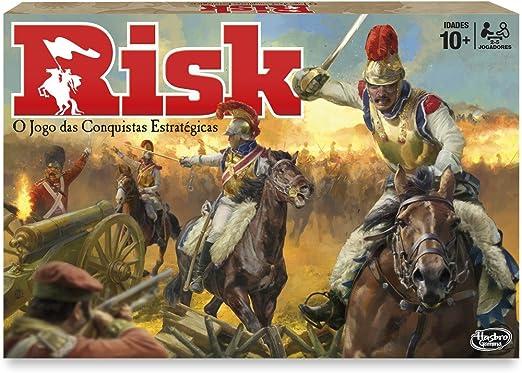 Hasbro Gaming Gaming clasico Risk (Versión Portuguesa) (B7404190): Amazon.es: Juguetes y juegos