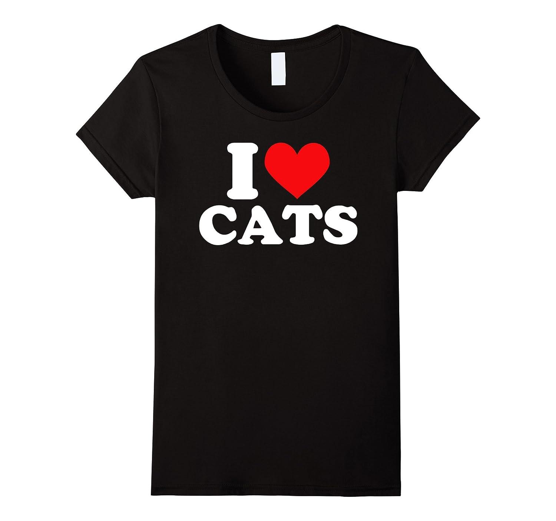 I heart cats shirt – I heart cats t-shirt I love cats shirt