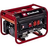 Einhell Generador eléctrico (gasolina) TC-PG 25/E5 (máx. 2400 W, motor de 4 tiempos con bajas emisiones, 2 tomas de 230…