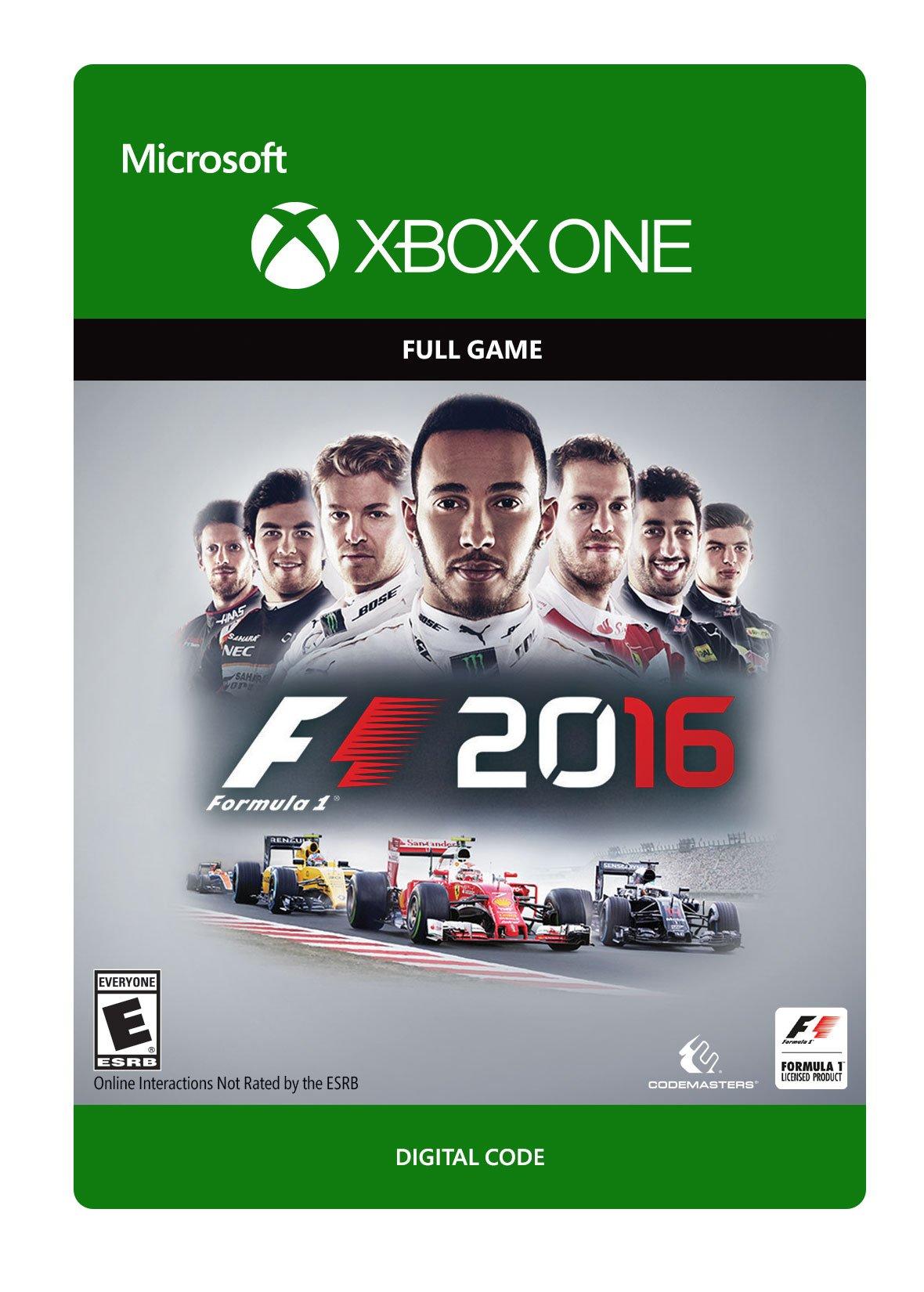 F1 2016 - Xbox One Digital Code