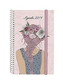 Agenda 2019 semana vista apaisada portugués