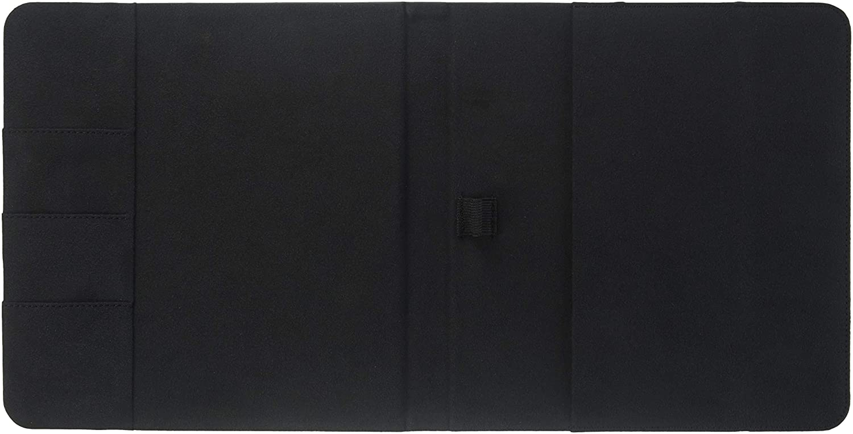 - Leather s A5-5 53//64 x 8 17//64 Sheet Size Livescribe AAA-00016 Smartpen Portfolio Black 3 Pocket