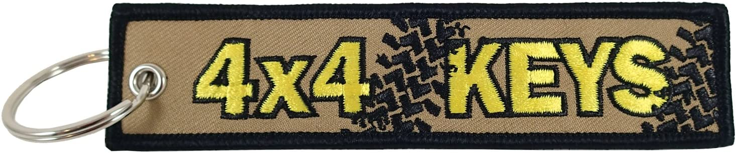 Embroidered Key Chain Luso Aviation VN205-4X4K 4x4 Keys