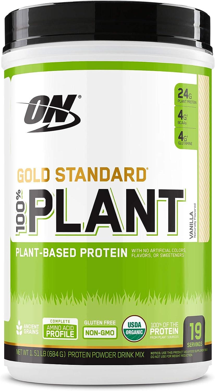 Optimum Nutrition 100% Plant Protein - Gold Standard Vanilla ...