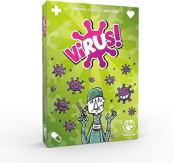 Outletdelocio. Juego de Cartas Virus. El Juego mas contagioso. Edicion Española. +8 años: Amazon.es: Juguetes y juegos