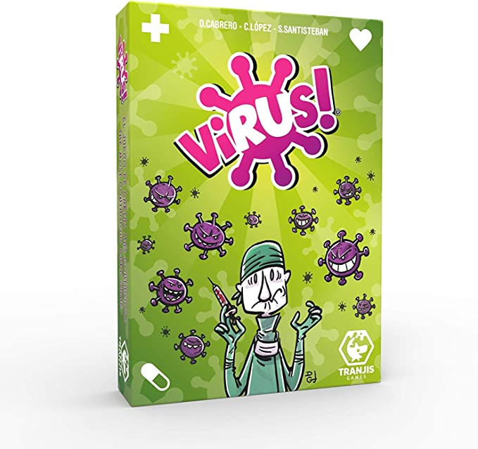 Outletdelocio. Pack Juego de Cartas Virus + Virus 2 + 200 Fundas. Edicion Española. +8 años: Amazon.es: Juguetes y juegos