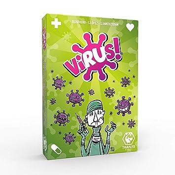 Outletdelocio. Juego de Cartas Virus. El Juego mas contagioso. Edicion Española. +8 años