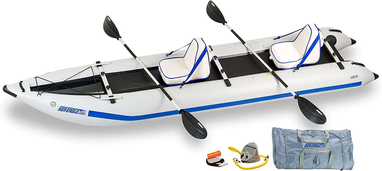 Amazon.com: Mar Eagle 435 Paddle catamarán Inflatable kayak ...