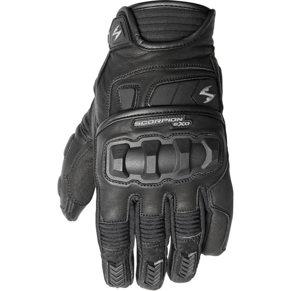 Scorpion Klaw II Men's Leather Street Motorcycle Gloves - Black / Large