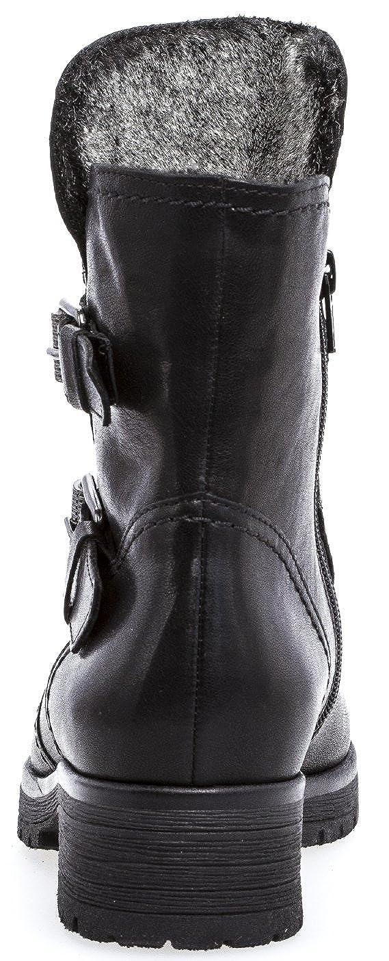 Gabor Damenschuhe 72.093.67 Damen Stiefeletten, Boots, Stiefel, in Comfort Mehrweite, mit Reißverschluss, mit Optifit Wechselfußbett