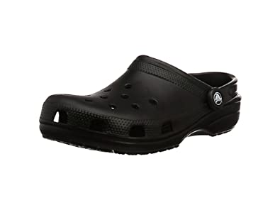 Crocs Classic Unisex Adults T-Bar Pumps, Black (Black), 4 UK Women / 3 UK Men