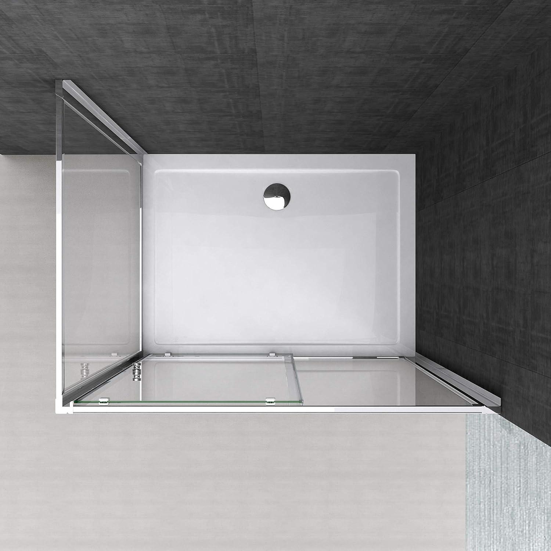 doporro: Cabina de ducha de esquina Rav12 70x130x190 Mampara de ...