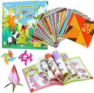 BESLIME C - Juego de origami para niños, contiene 192