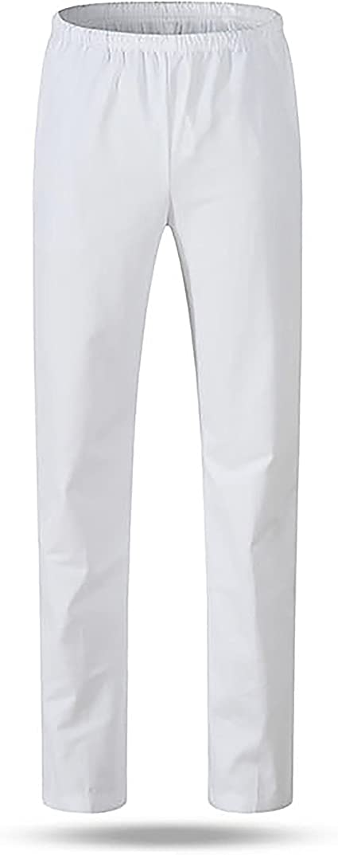 WWOO Pantalones mujer blancos Pantalones de trabajo