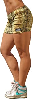 product image for Physique Bodyware Women's Animal Print Gym Shorts. Blowout Sale! Made in America