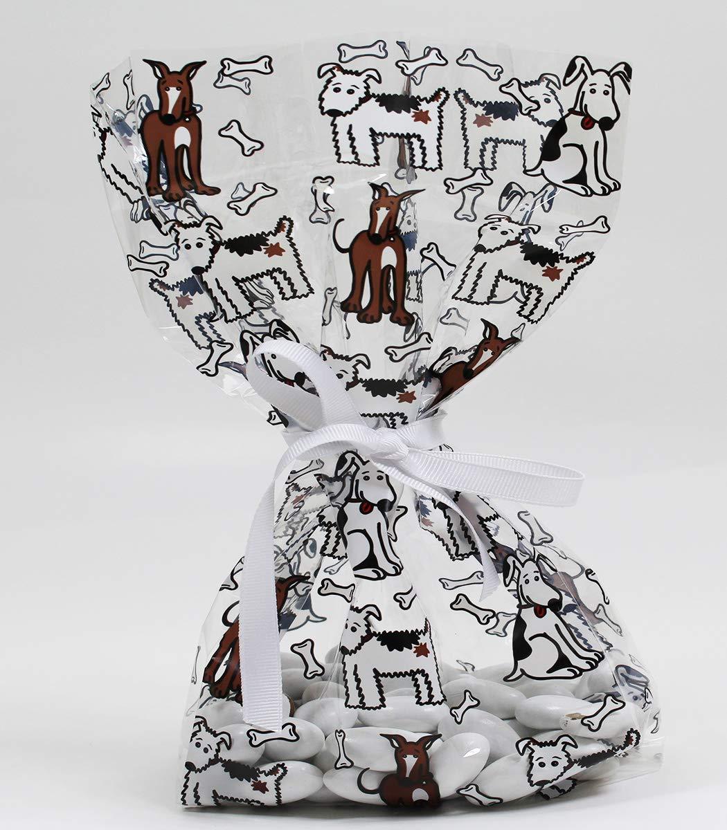 Amazon.com: Puppy Pals Bolsas de regalo para perro, celofán ...