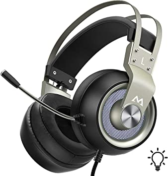 Mixcder Gaming Headset Stereo Bass Headphones 3.5mm w//Mic for PS4 Xbox one PC