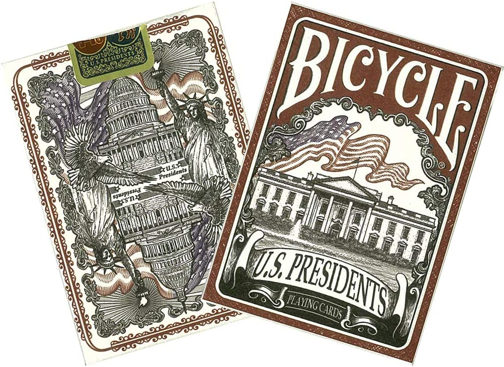 Presidents Red Playing Cards Brand New Sealed Bicycle U.S