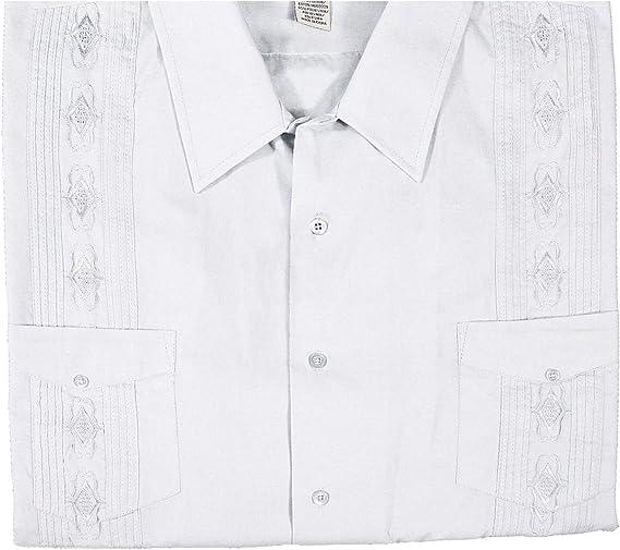 Foxfire Big & Tall Guayabera Camisa Informal para Hombre