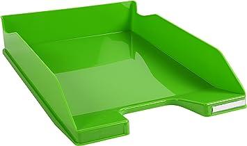 Exacompta 42541D Sicherheitspapierkorb 284 x 284 x 350 mm, 15 Liter, ideal f/ür Ihre Organisation in B/üro steingrau