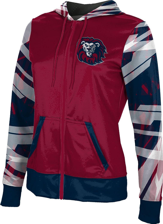 School Spirit Sweatshirt ProSphere Loyola Marymount University Girls Zipper Hoodie Crisscross