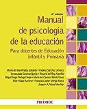 Manual De Psicología De La Educación. Para Docentes De Educación Infantil Y Primaria - 9788436835151
