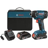 Bosch 25618-02 18-Volt Lithium-Ion 1/4-Hex Impact Driver Kit