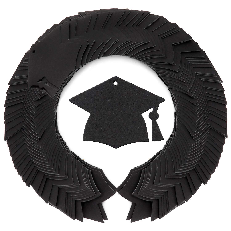 f57618050830 Amazon.com: WooKun 300 Pcs Graduation Season Gift Tag with Black ...