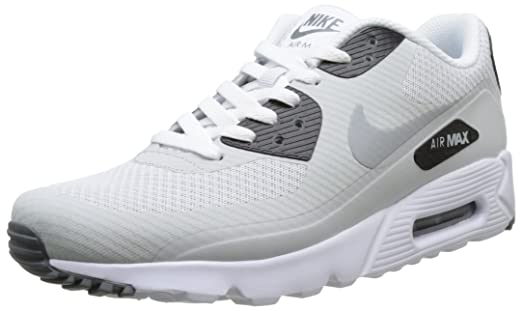 Nike Men's Air Max 90 Ultra Essential, PURE PLATINUM/WOLF GREY-COOL GREY