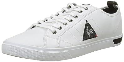 Le Coq Sportif Ares Cvs/2TONES, Baskets Hommes, Blanc (Optical White/Black), 41 EU
