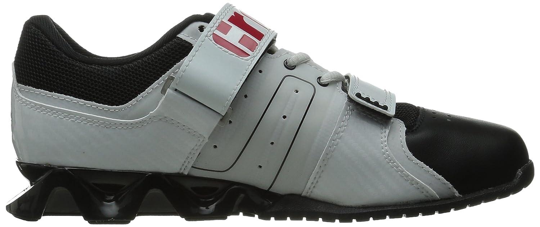 9b7a97a291abf Zapatillas de entrenamiento Reebok para hombre R Crossfit Lifter Plus  Blanco   Negro   Excelente Rojo
