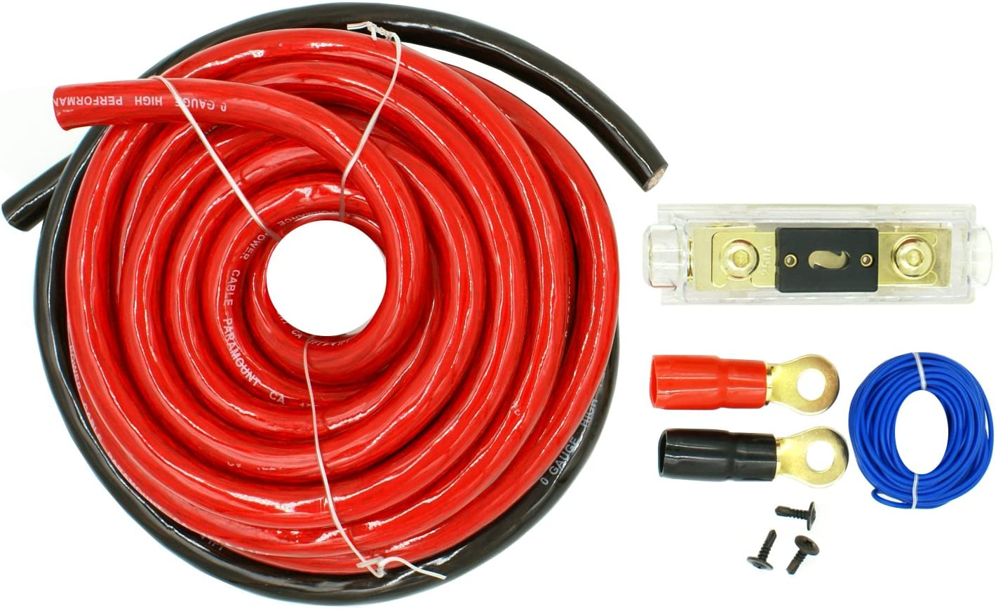 Premium Oxygen Free Copper DNF 8 Gauge 250 Feet Red Power Cable 100/% OFC