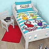 Teletubbies 'Playtime' Junior Duvet Set - Large Print Design