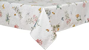 Lenox Butterfly Meadow 60-inch by 120-inch Oblong / Rectangle Tablecloth