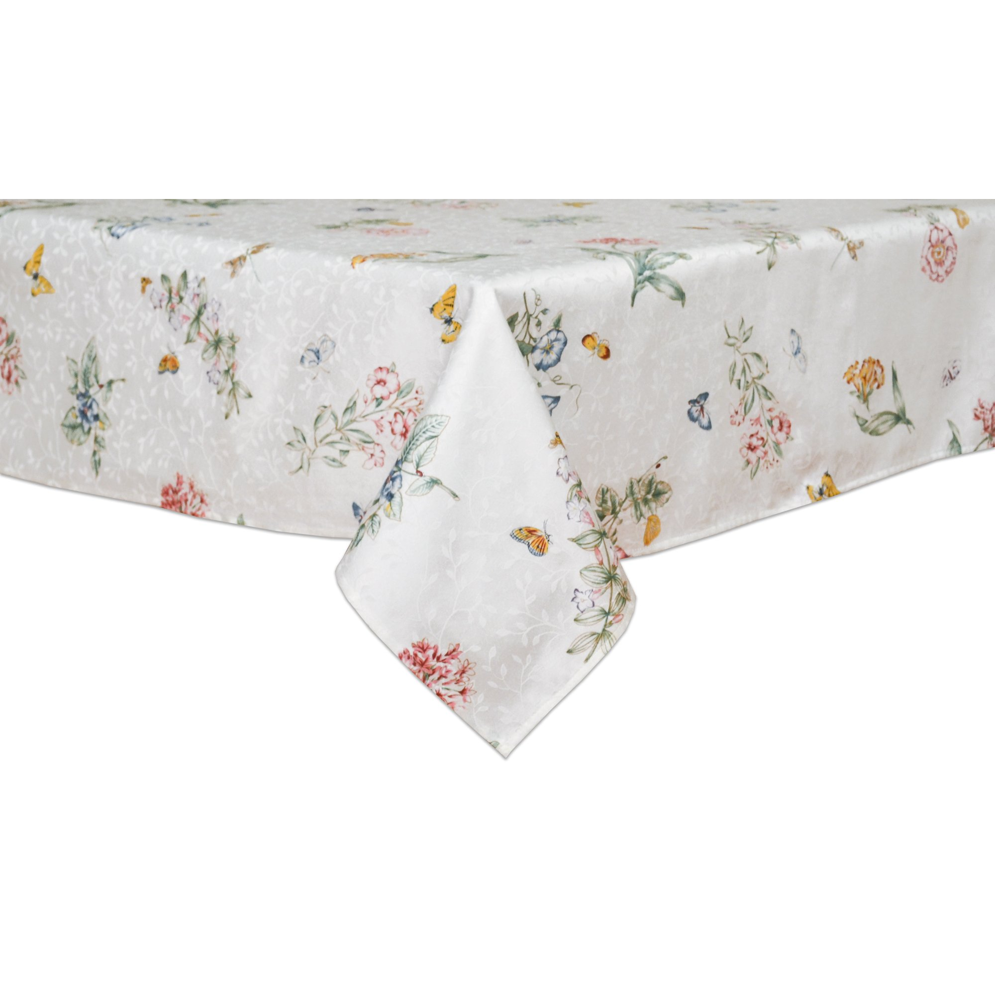 Lenox Butterfly Meadow 60-inch by 102-inch Oblong / Rectangle Tablecloth
