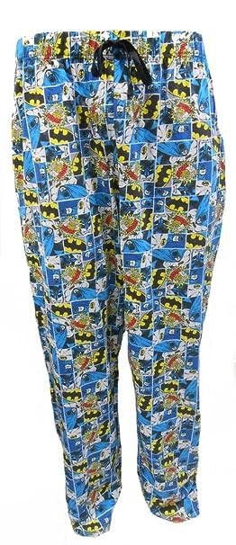 Batman - Pantalón de Pijama - para Hombre XL: Amazon.es: Ropa y accesorios