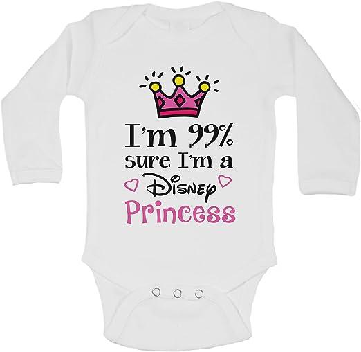 Princess Crown Super Cute Bodysuit or Tee I/'m 99/% Sure I/'m A Real Princess