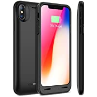 Amazon.com deals on iPhone X Battery Case with Qi Wireless Charging 4200mAh