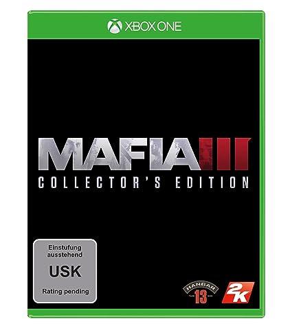 Mafia Iii Collector S Edition Xbox One Games